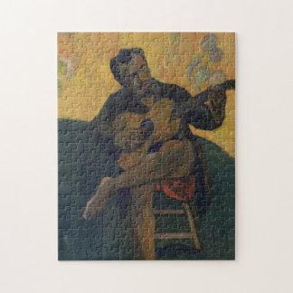 Der Gitarrist Puzzle