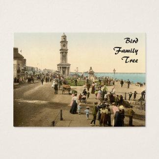 Der Glockenturm, Herne-Bucht, Kent, England Visitenkarte