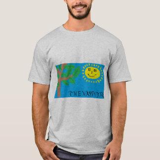"""""""Der glückliche Baum-"""" T - Shirt der Männer"""