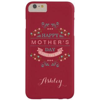 Der glückliche Tag der Mutter - elegantes schickes Barely There iPhone 6 Plus Hülle