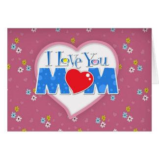 Der glückliche Tag der Mutter Grußkarte