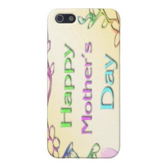 Der glückliche Tag der Mutter iPhone 5 Hülle