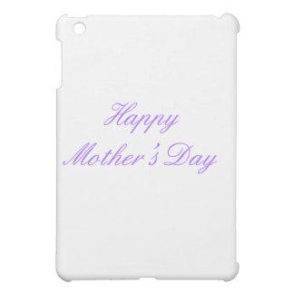 Der glückliche Tag der Mutter lila die MUSEUM iPad Mini Hülle