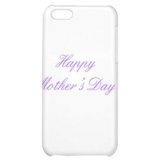 Der glückliche Tag der Mutter lila die MUSEUM iPhone 5C Cover
