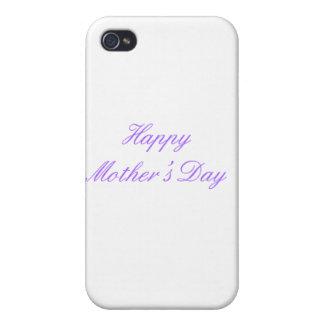 Der glückliche Tag der Mutter lila die MUSEUM Zazz Schutzhülle Fürs iPhone 4