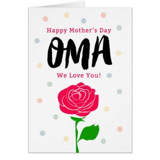 Der glückliche Tag der Mutter, Oma, Sie gemein