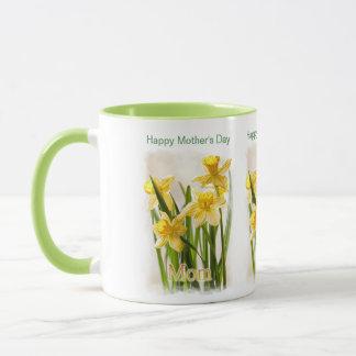 Der glückliche Tag der Mutter - Painterly Tasse
