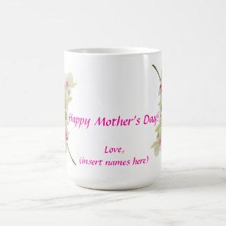 Der glückliche Tag der Mutter Tasse