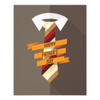 Der glückliche Vatertag 11,4 X 14,2 Cm Flyer