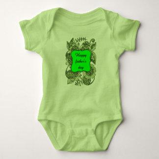 Der glückliche Vatertag Baby Strampler