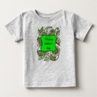 Der glückliche Vatertag Baby T-shirt