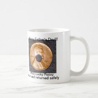 Der glückliche Vatertag des Penny-WW2 Kaffeetasse