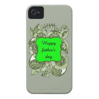 Der glückliche Vatertag iPhone 4 Etuis