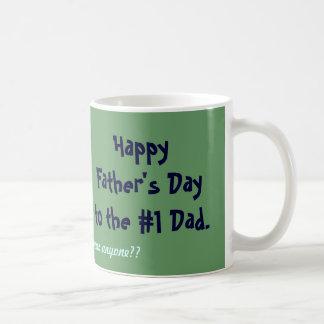 Der glückliche Vatertag Kaffeetasse