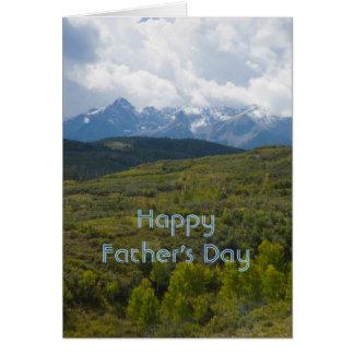Der glückliche Vatertag Karte
