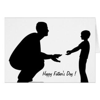 Der glückliche Vatertag! - Karte