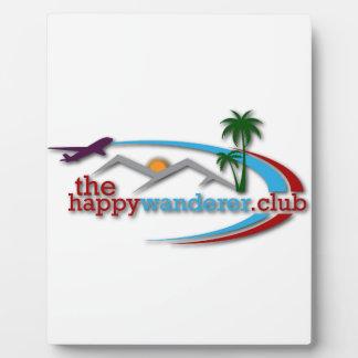Der glückliche Wanderer-Verein Fotoplatte