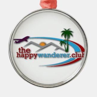Der glückliche Wanderer-Verein Silbernes Ornament