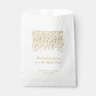 Der GoldConfetti, der | Wedding ist, Geschenktütchen