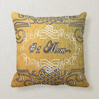 Der goldene Tag der Mutter der extravaganten Kissen