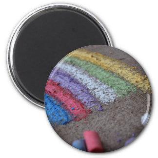 Der Goldschatz am Ende des Regenbogens, Kreide Magnete