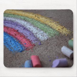 Der Goldschatz am Ende des Regenbogens, Kreide Mousepads