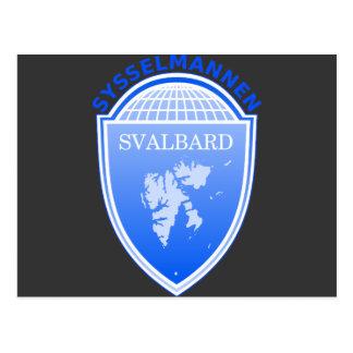 der Gouverneur Svalbard, Norwegen Postkarte