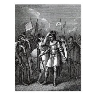 Der Graf Richmond ausgesuchten Königs Postkarte