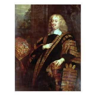 Der Graf von Clarendon, Lord High Chancellor Postkarte