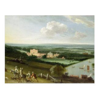 Der Graf von Rochesters Haus, neuer Park, Postkarte