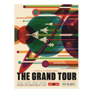 Der großartige Ausflug - Retro die Postkarte