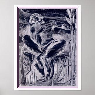 Der große Gott Pan-1860 Frederic Leighton 11 x 14 Poster