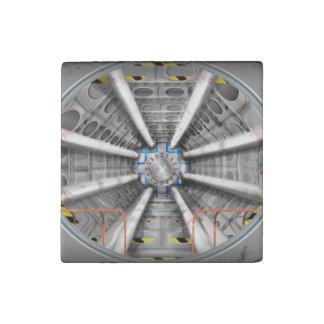Der große HadronCollider (LHC) Stein-Magnet