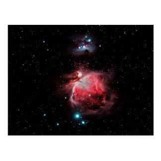 Der große Nebelfleck in Orion Postkarte