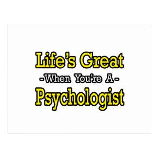 Der große… Psychologe des Lebens Postkarte