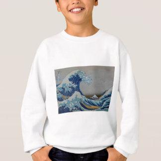 Der große Tsunami Sweatshirt