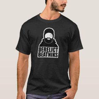 Der grundlegende dunkle T - Shirt der aufgegebenen