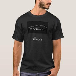 Der grundlegende dunkle T - Shirt der Männer