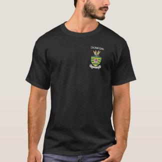 Der grundlegende dunkle T - Shirt Donegal-Männer