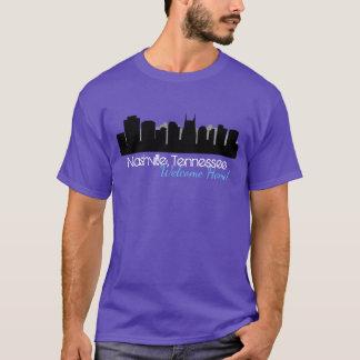 Der grundlegende dunkle T - Shirt Nashville der