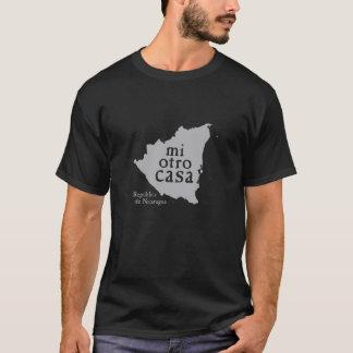 Der grundlegende dunkle T - Shirt NICARAGUA der