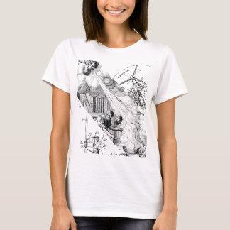 Der grundlegende T - Shirt der Frauen - Wind