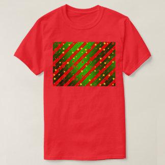 Der grundlegende T - Shirt der roten glücklichen