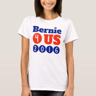 Der grundlegende T - Shirt Frauen Bernie 4 US