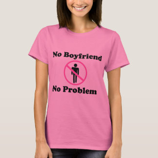 Der grundlegende T - Shirt keiner Problem Frauen