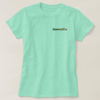 Der grundlegende T - Shirt Samantha-Frauen