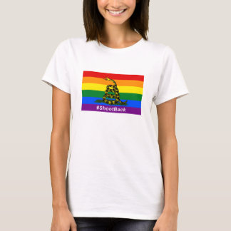 Der grundlegende T - Shirt #ShootBack Frauen
