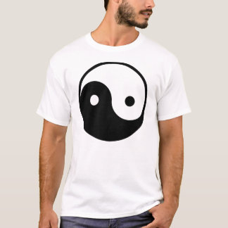 der grundlegende T - Shirt yin Yang-Männer