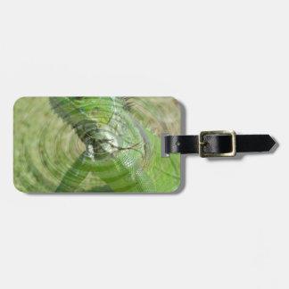 Der grüne Leguan Gepäckanhänger