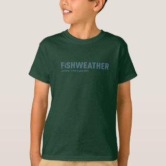 Der grüne T - Shirt FishWeather Kindes